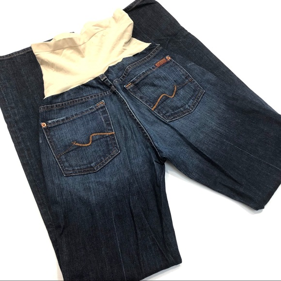 7 For All Mankind Denim - 7 For All Mankind Maternity Bootcut Jean